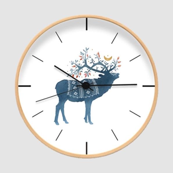 壁鐘|水鹿