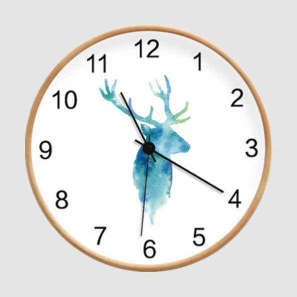 樺木掛鐘|福鹿