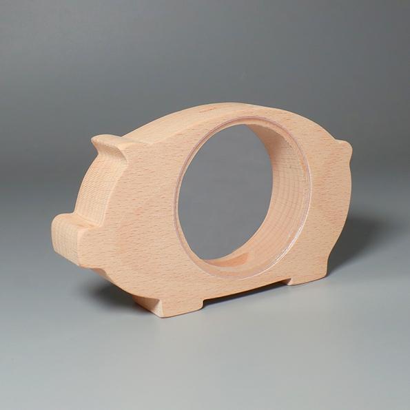 透明動物存錢筒|小豬