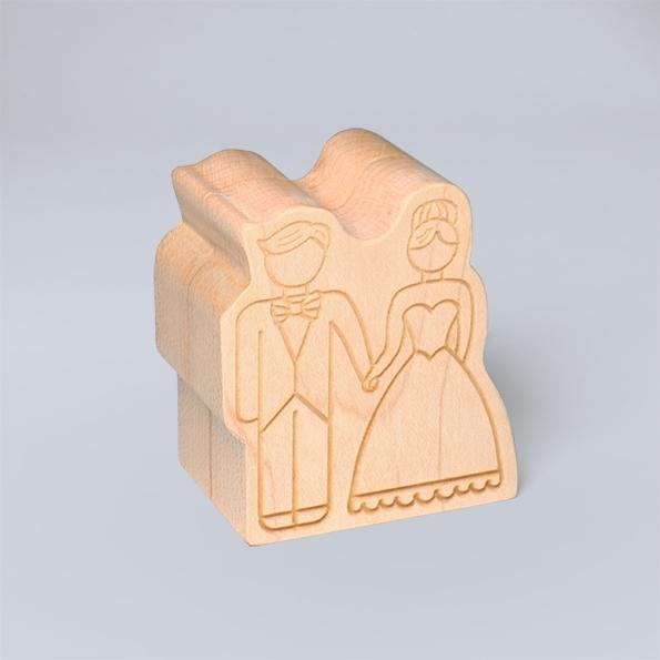承諾.求婚戒指盒|黑胡桃